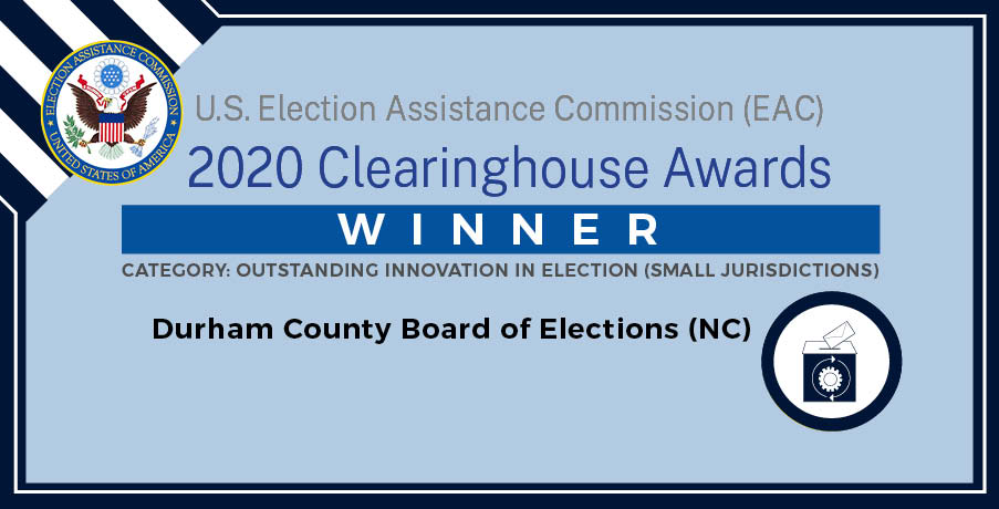 Image: Winner - Durham County Board of Elections