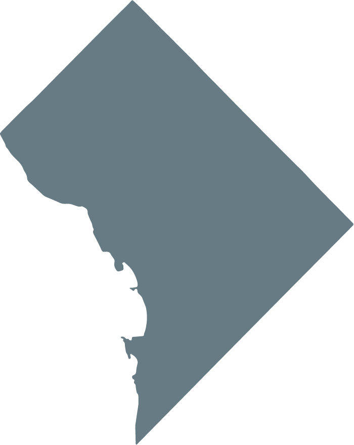 shape of District of Columbia
