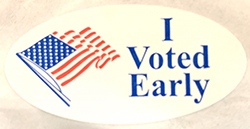 I Voted Early
