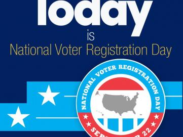 Today is National Voter Registration Day Get #VoteReady