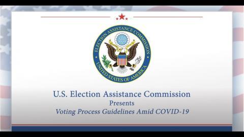 Coronavirus Covid 19 Resources U S Election Assistance Commission