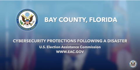 Cybersecurity Protections Following a Disaster - Bay County, Florida