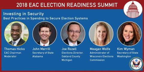 2018 Election Readiness Summit: Investing in Security